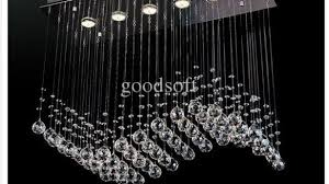 home and furniture captivating contemporary crystal chandeliers in fumat modern chandelier rectangle k9 ceiling light
