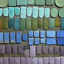 Wedgwood Color Chart Experiments In Colour Josiah Wedgwoods Original