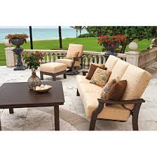 Brown Jordan Outdoor Kitchens Telescope Casual St Catherine Swivel Rocking Chair With Cushions
