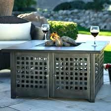 uniflame fire pit. Uniflame Gas Fire Pit Table Lp With Slate