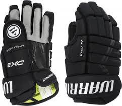 <b>Перчатки хоккейные WARRIOR Alpha</b> DX3 SR Черный цвет ...
