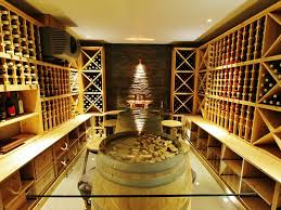this wine cellar built into a home refurbished by btl property is complete with