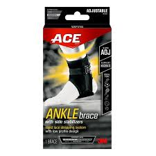 Ace Ankle Brace With Side Stabilizers Moderate Support