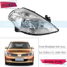 2008 Nissan Versa Brake Light Bulb Us 48 9 20 Off Zuk Front Bumper Headlight Headlamp For Nissan Tiida Latio Versa C11 2008 2009 2010 Head Light Head Lamp Sub Assy Replacement In Car