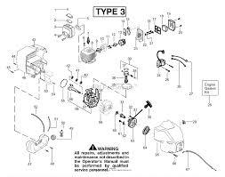 Poulan te450cxl le gas trimmer type 3 parts diagram for engine type 3 diagram engine type
