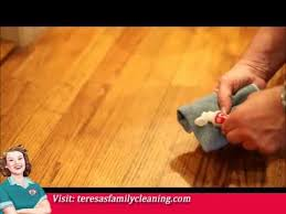 removing scuff marks from wood floors