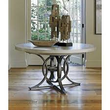 beaumont lane round pedestal dining table in oyster