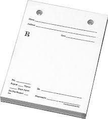 doctor prescription pad prescription pad clipart hanslodge cliparts