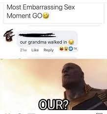 Most embarrassing sex moments