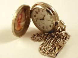 mens pocket watches wind up insert photo pocket watch