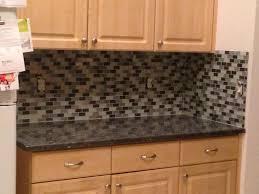 black granite countertops with tile backsplash. Kitchen Backsplash Ideas For Black Granite Countertops With Tile L