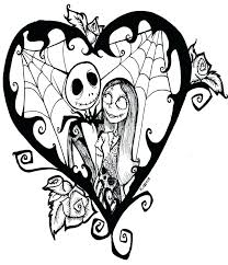 Nightmare Before Christmas Coloring Pages Printable Weareeachother