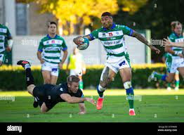 Treviso, Italy. 16th Oct, 2021. Monty Ioane (Benetton Treviso) during Benetton  Rugby vs Ospreys, United Rugby Championship match in Treviso, Italy,  October 16 2021 Credit: Independent Photo Agency/Alamy Live News Stock  Photo - Alamy