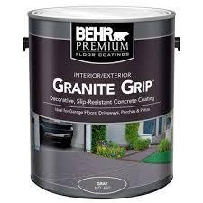 65001 gray granite grip interior exterior concrete paint