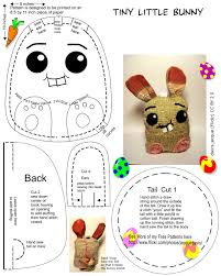 Free Bunny Pattern Template Magnificent Inspiration Ideas