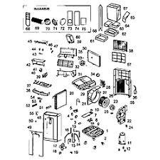 haier portable air conditioner parts. cabinet parts haier portable air conditioner