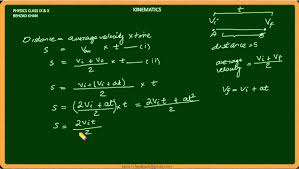lecture 017 kinematics part 4 equations of motion physics in urdu free tutorial class ix you