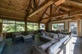 Cottage Country Sunrooms rustic-sunroom