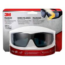 3m safety eyewear polarized glasses with black frame anti fog and scratch resistant lens