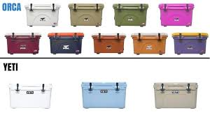 Yeti Color Chart A Chart Depicting The Size Of Various Yeti Coolers From Left