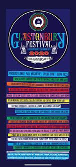 Glastonbury Festival 2020 lineup phase ...