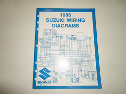 cheap suzuki automobile models suzuki automobile models get quotations · 1986 suzuki motorcycle a t v g models wiring diagrams manual minor wear