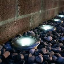 in ground lighting. In Ground Lighting Outdoor Solar Deck Lights Flush Mount E