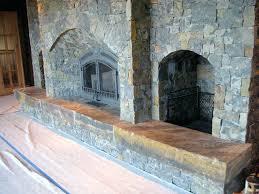 stone facade fireplace stacked stone veneer fireplace diy
