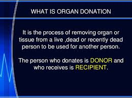 organ donation awareness ppt organ donation by pavithra n 2