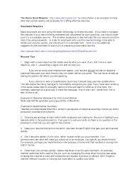 Resume Career Summary Examples Berathen Com