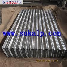 weight of galvanized corrugated iron sheet