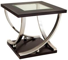 um size of end tables coffee table half moon side black iron glass end tables
