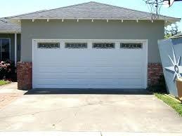 garage door opener will not close large size of door door not closing fully
