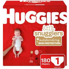 Huggies Plus Diapers Sizes 1 6