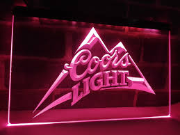 Coors Light Billiard Light Us 11 5 La004 Coors Light Beer Bar Pub Logo Led Neon Light Sign Home Decor Crafts In Plaques Signs From Home Garden On Aliexpress