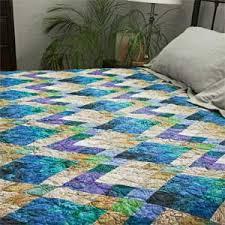 & Jade: Sparkling Jewel-Toned Batiks Bed Quilt Pattern & Lapis & Jade: Sparkling Jewel-Toned Batiks Bed Quilt Pattern Adamdwight.com