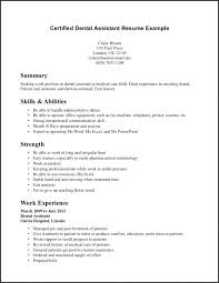Sample Resume For Dental Assistant Cover Letter Dental Hygiene ...
