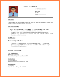 How To A Resume 24 Latest How To Create A Cv Professional Resume Templates 15