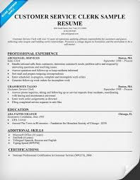 Customer Service  Clerk Resume  resumecompanion com    Job     Pinterest