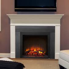 electric fireplace traditional closed hearth built in simplifire