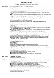 Phlebotomy Technician Resume Samples Velvet Jobs