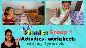 Phonics worksheets and online activities. Jolly Phonics Group 1 Writing Work Worksheets Activities With A 4 Year Old Satpin Phonics Youtube