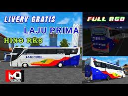 Kualitas livery jernih laju prima tinggi, membuat gambar seolah lebih nyata. Livery Bus Simulator Shd Laju Prima Arena Modifikasi