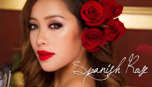 makeup spanish rose by mice phan