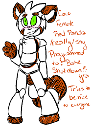 fnaf oc dog. fnaf oc - coco by askanimatronicfoxy fnaf oc dog