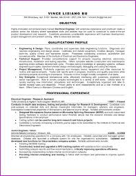 Resume Format Of Electrical Engineer Cv Format For Electrical