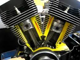 harley big twin engine cutaway view