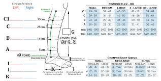 Compreflex Sizing Chart Sigvaris Compreflex Below Knee
