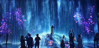 Tokyo Museum Of Light Today I Went To Teamlab Borderless Light Art Museum In