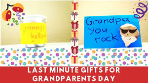 how to make a gift in last minute last minute grandpas day gift ideas easy crafts for kids